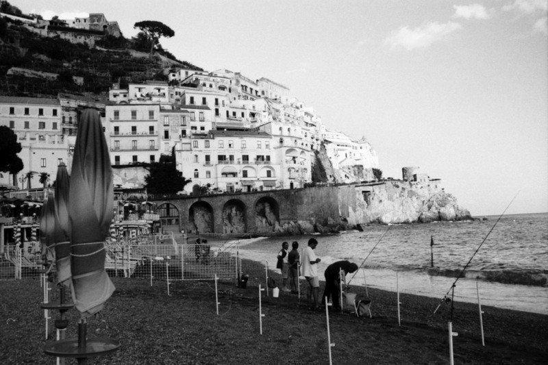 Fishermen on the Amalfi Coast - Italy