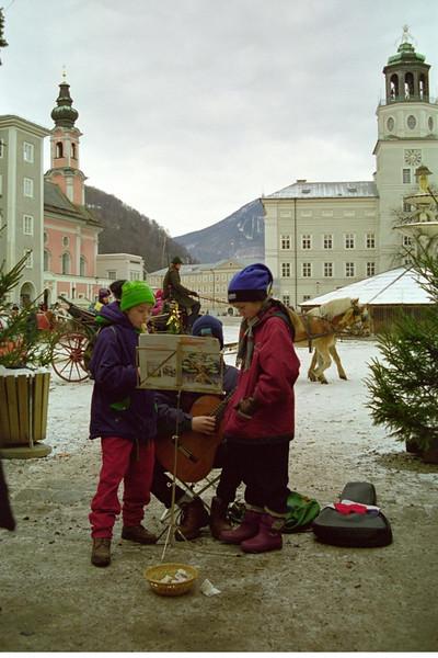 Enterprising Christmas Choir - Salzburg, Austria