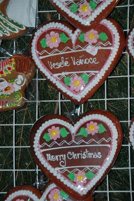 Czech Gingerbread Cookies - Old Town Christmas Market, Prague, Czech Republic