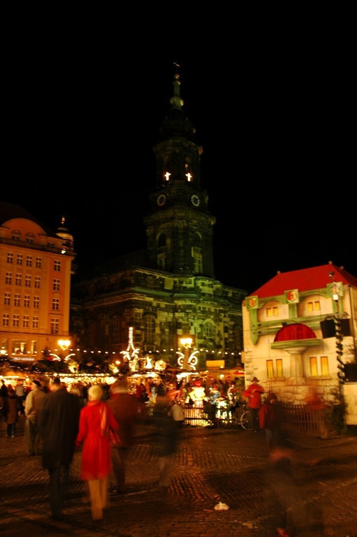 Striezelmarkt - Dresden, Germany