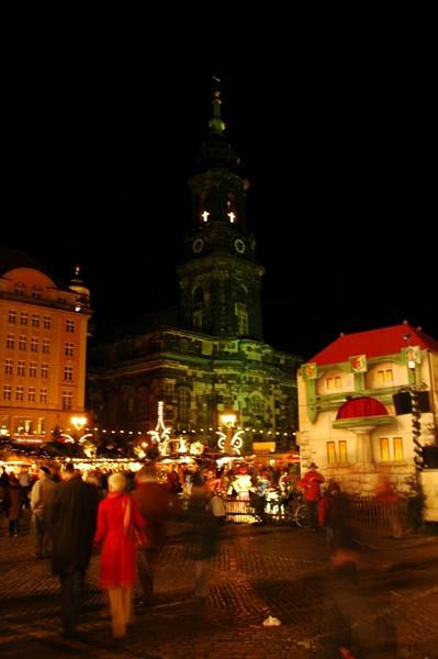 Striezelmarkt - Dresden, Germany