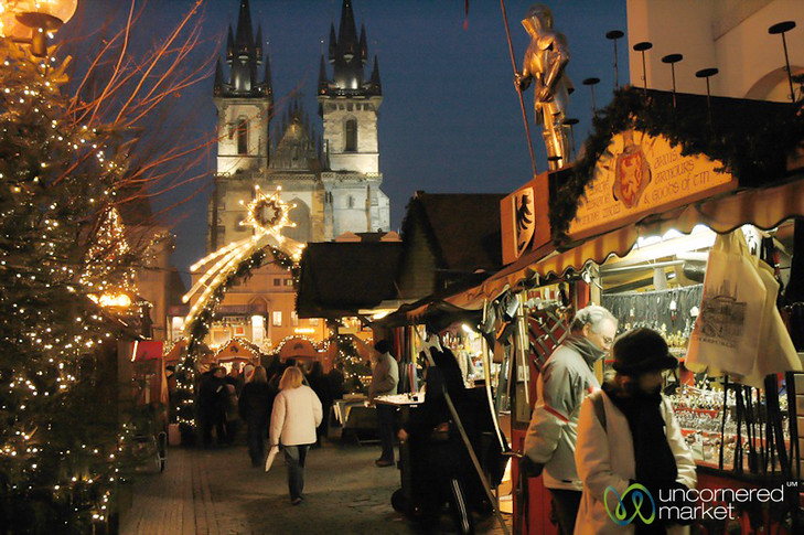 Tyn Church - Prague's Christmas Market, Czech Republic