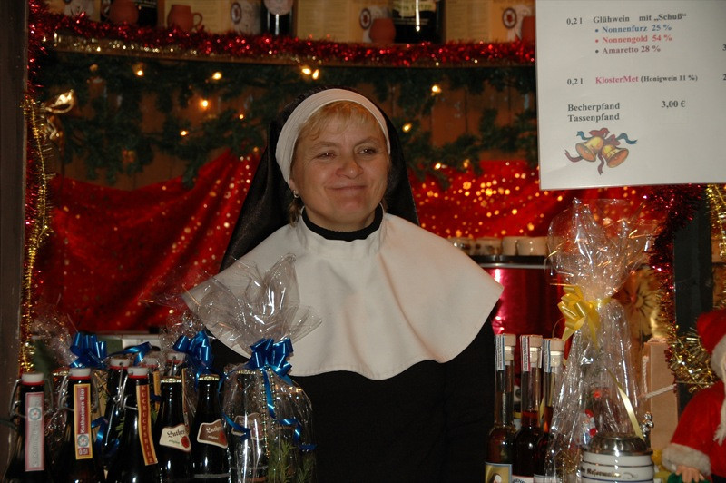 Nun's Wine at Neustadter Markt - Dresden, Germany