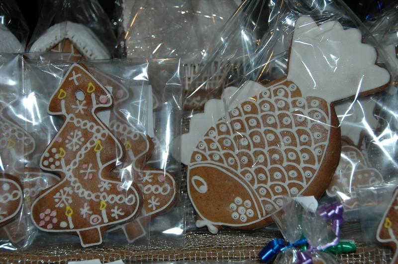 Gingerbread Christmas Cookies - Prague, Czech Republic