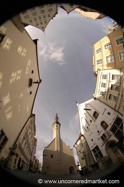 European Cities, Fisheye View