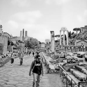Architecture in the Roman Forum Photograph 6