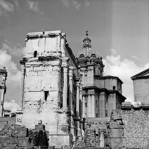 Architecture in the Roman Forum Photograph 12
