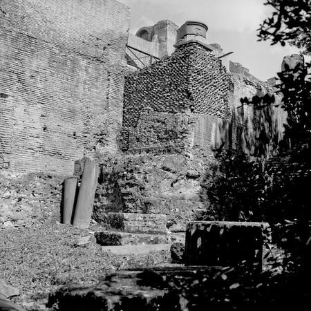 Architecture in the Roman Forum Photograph 2