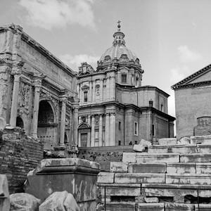Architecture in the Roman Forum Photograph 11