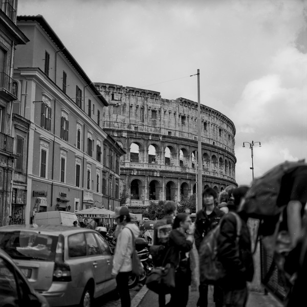 Colosseum in Rome Photograph 3