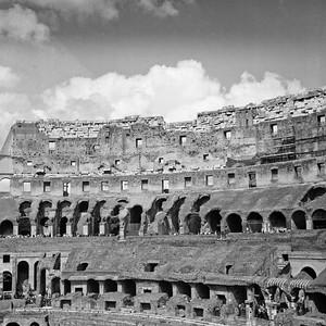 Colosseum in Rome Photograph 9