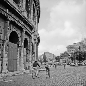 Colosseum in Rome Photograph 1