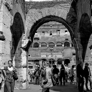 Colosseum in Rome Photograph 7