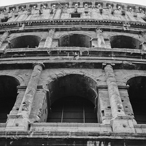 Colosseum in Rome Photograph 2