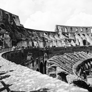 Colosseum in Rome Photograph 12