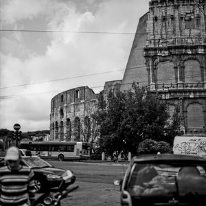 Colosseum in Rome Photograph 5