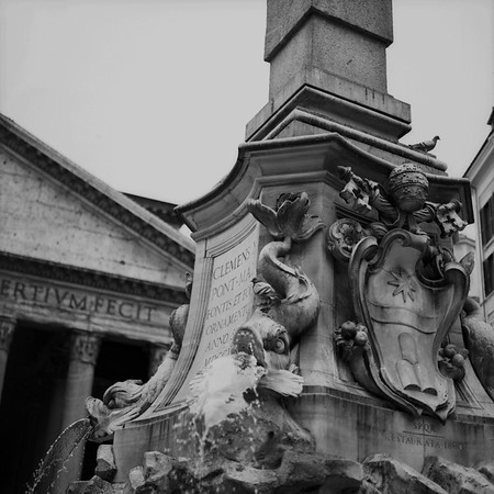 Pantheon in Rome Photograph 3