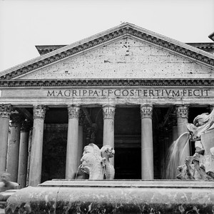 Pantheon in Rome Photograph 1