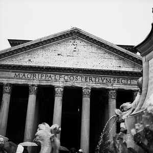 Pantheon in Rome Photograph 5