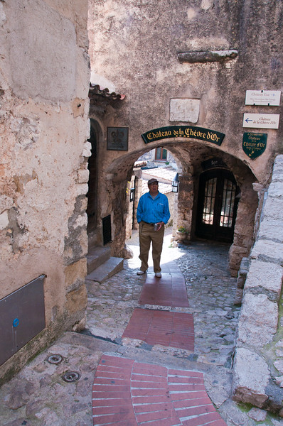 Walled medieval village dating back to 12th century. Eze, France