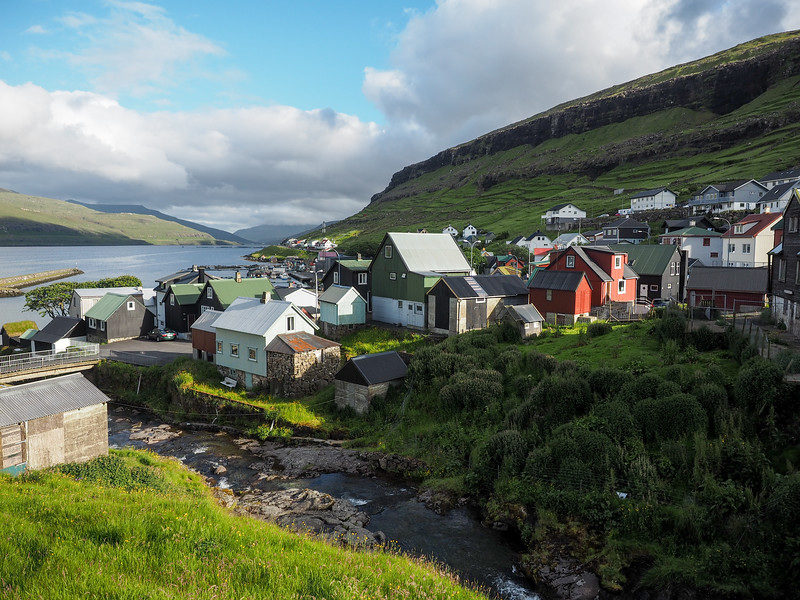 Village in the Faroe Islands