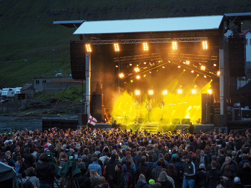 G! Festival main stage in Gøta