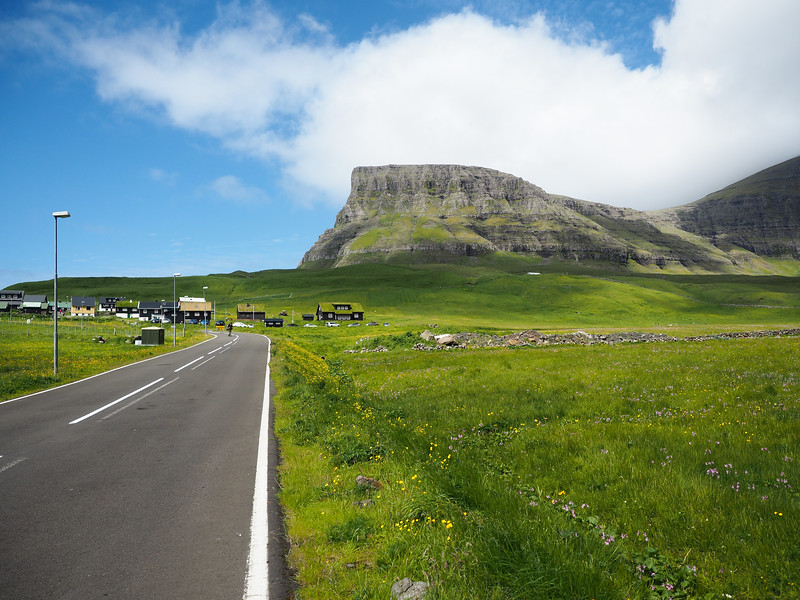 Road tripping in the Faroe Islands