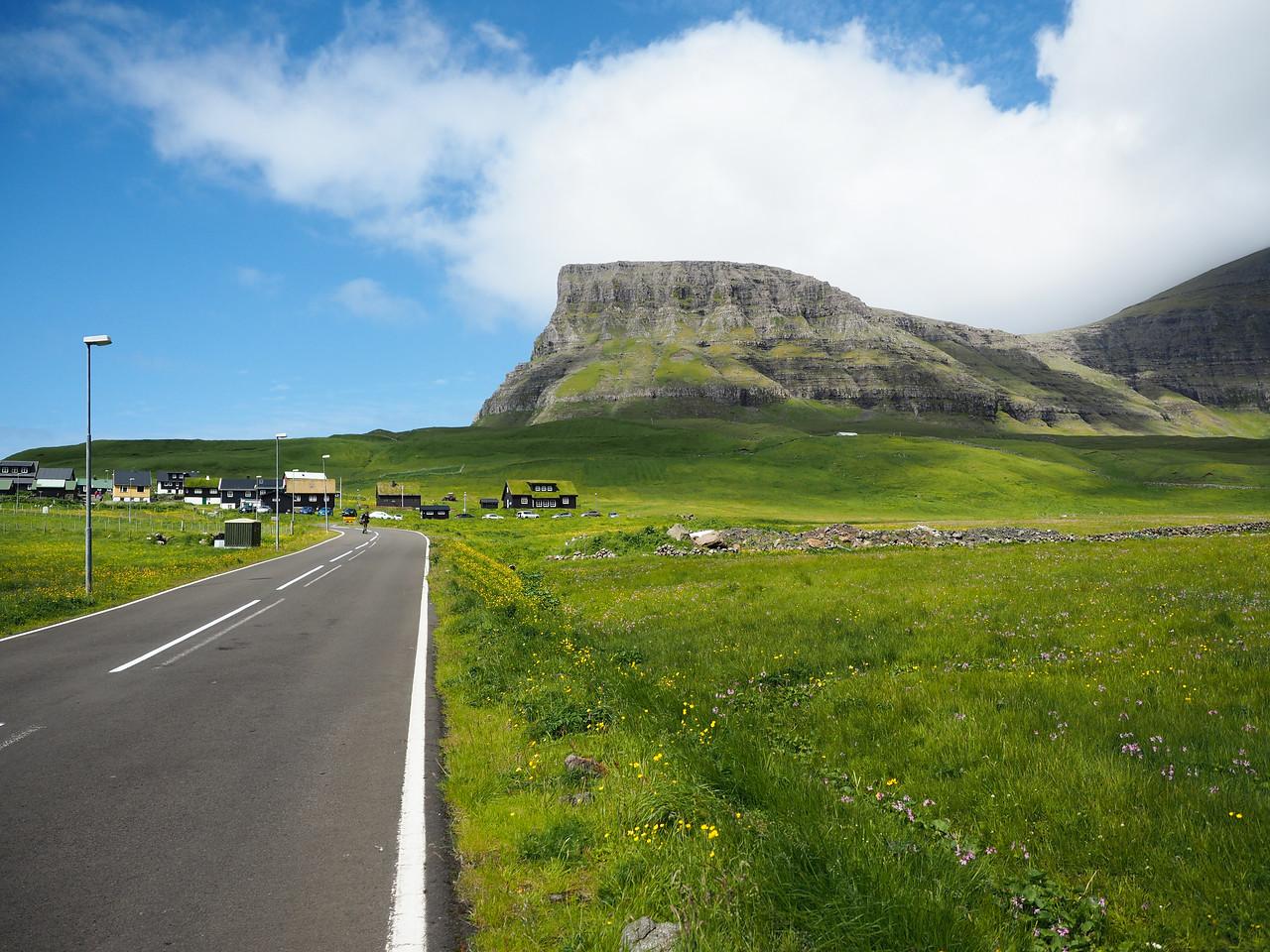 Road tripping in the Faroe Islands