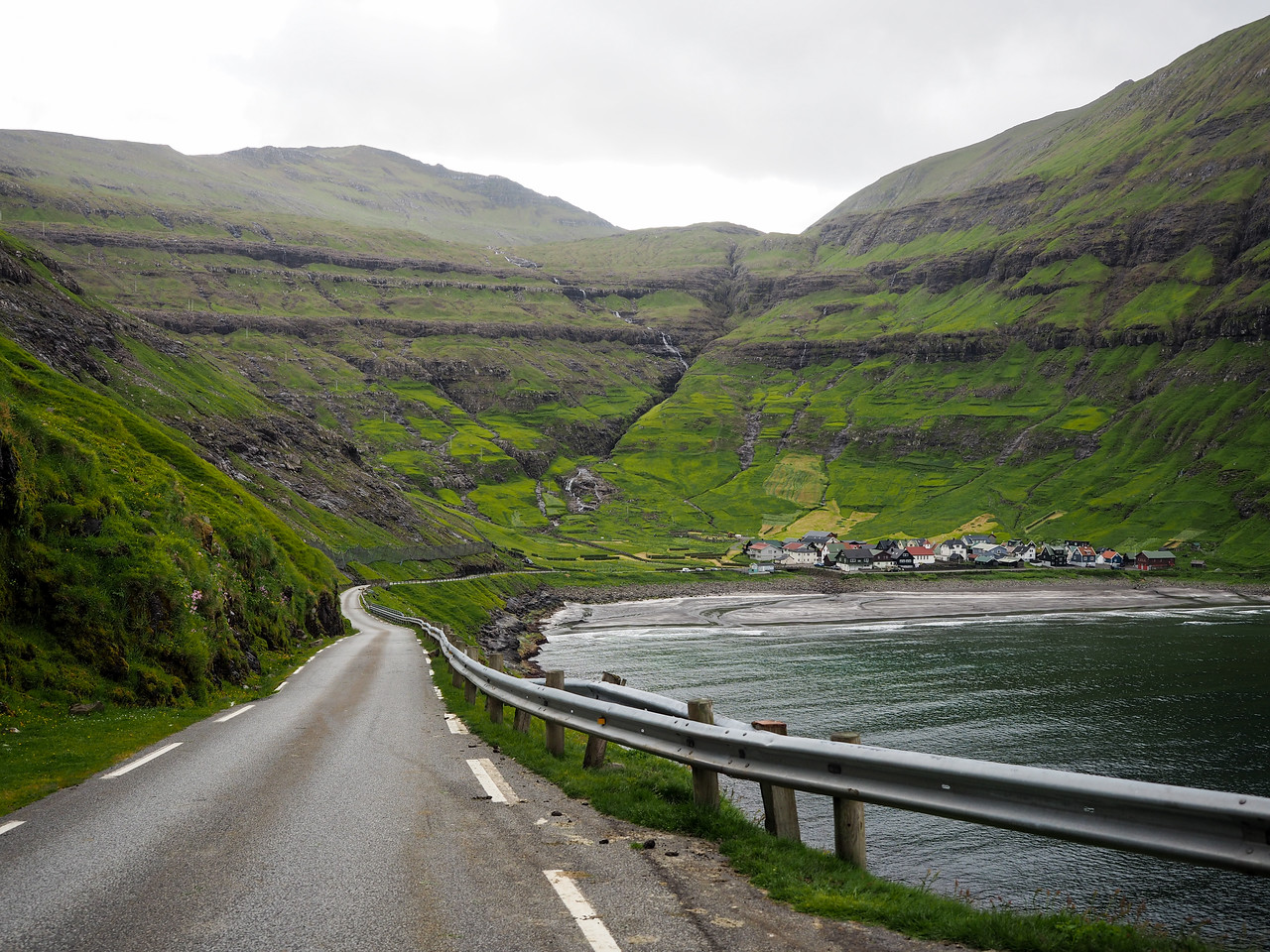 Road tripping to Tjørnuvík in the Faroe Islands