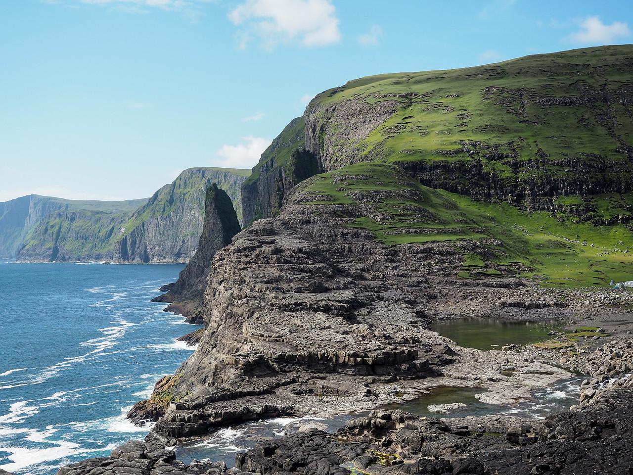 Faroe Islands coastline