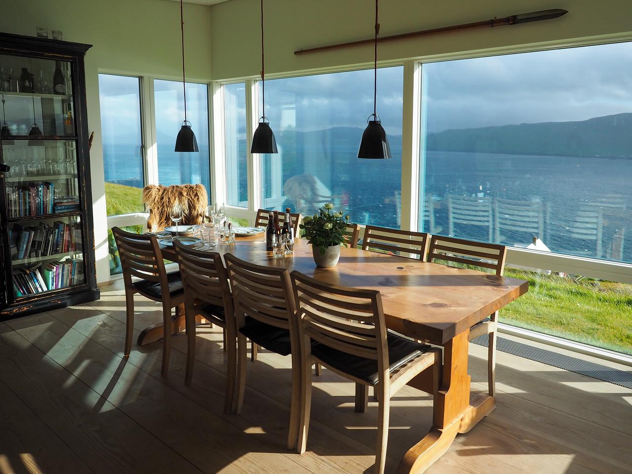 Dinner with farmers in the Faroe Islands