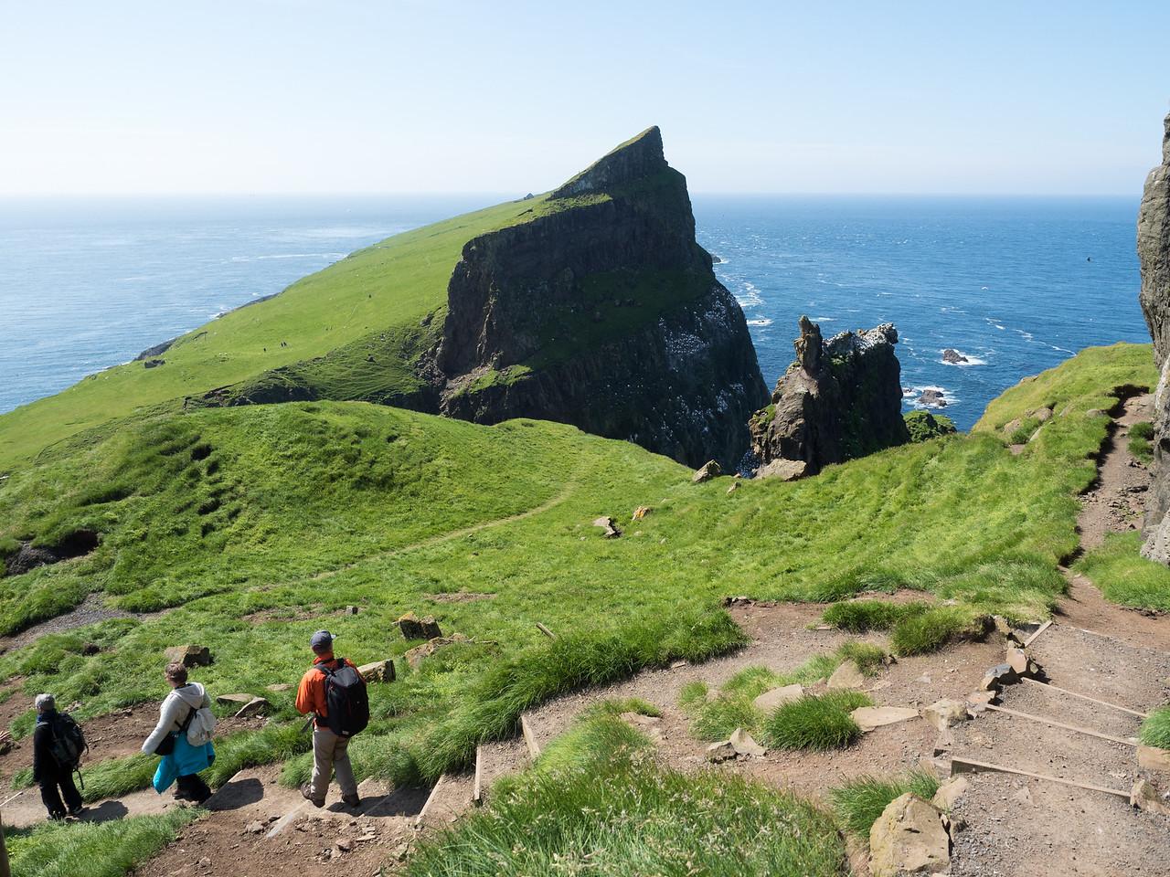 Hiking Mykines in the Faroe Islands