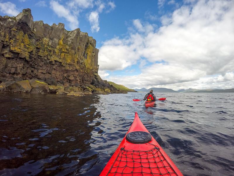 Kayaking in the Faroe Islands