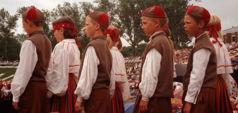Boys in the Festival - Estonia's Dance Festival