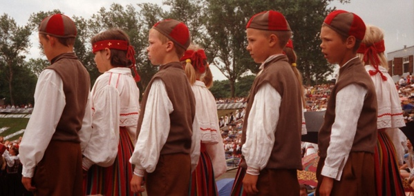 Boys in the Festival - Estonia's Dance Festival