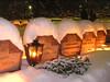 Churchyard, Savonlinna, Christmas Eve