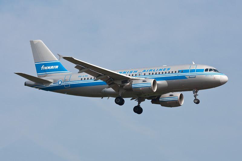 """OH-LVE Airbus A319-112 c/n 1791 Frankfurt/EDDF/FRA 02-07-10 """"Silver Bird"""""""