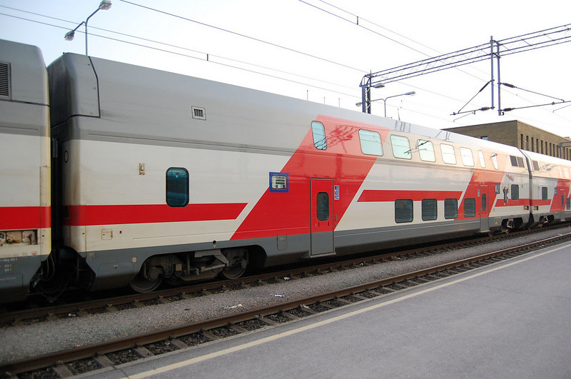 IC2 double deck car at Turku.