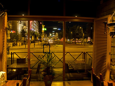 Taken from Maya Bar and Grill, Helsinki, Finland