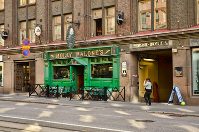 Every place has to have an Irish Pub, Helsinki, Finland