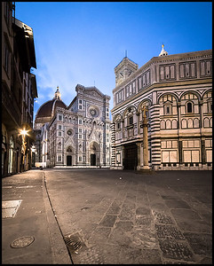 Piazza del Duomo at dawn