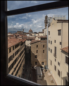 View of the Duomo from the Uffizi Gallery