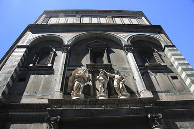 Statues on the Baptistery