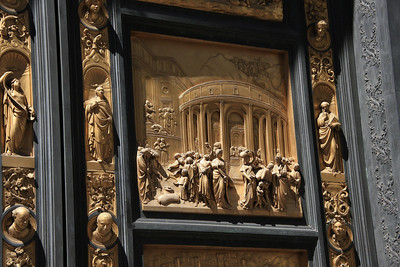 The Gates of Paradise on the Baptistery