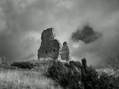 Castle Ruin, Dordogne