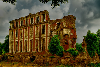 Palace Ruins North of Paris