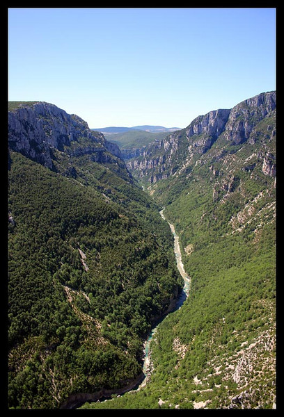 The Verdon Gorge is amazing and the climbing would be impossible to do it all in lifetime. There are so many routes including walls I bet have never been done. Supposably it is the largest Gorge in Europe.