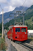 CFCM no. 43 at Chamonix in August 1988. This 5km rack line was electrified in 1954.