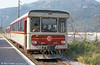 The Provence Railway runs from Nice to Digne, a distance of 151km. X300 car SY02 of 1972 is seen in August 1984.