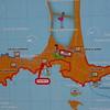 Pr 1834 kaart van Presqu'île de Giens